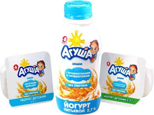 любимыми продуктами должны стать кисломолочные йогурты или творожки