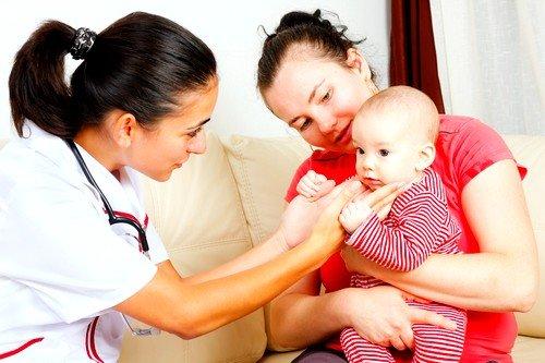 Воспаление лимфоузла за ухом у детей