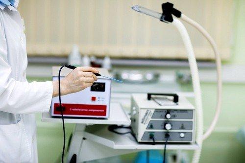 Радиоволновой метод лечения эрозии шейки матки