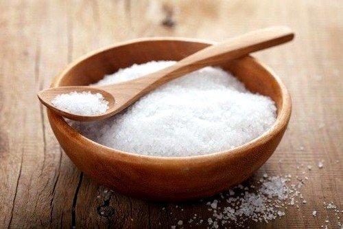 Рецепты с солью