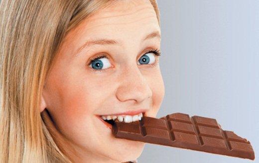 Шоколад – источник хорошего настроения