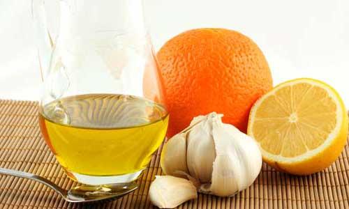 Чеснок и сок лимона для повышения иммунитета