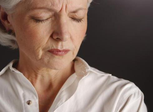 Ухудшение общего самочувствия при климаксе
