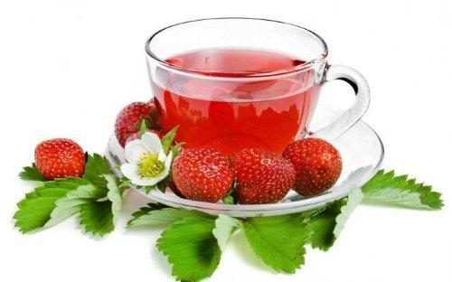 Чай из земляники для повышения иммунитета