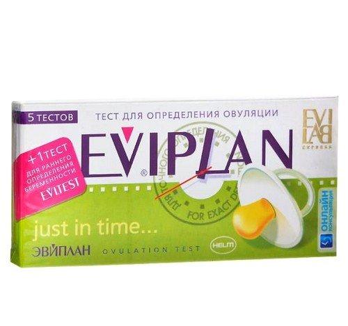 Тест Eviplan