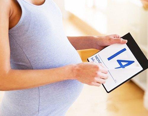 Календарь беременности для определения даты родов по последней менструации