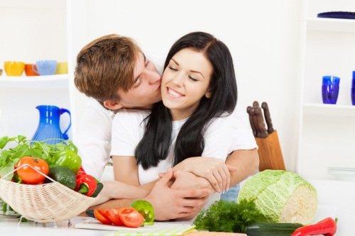 Правильное питание и благоприятная обстановка – поможет быстрее забеременеть