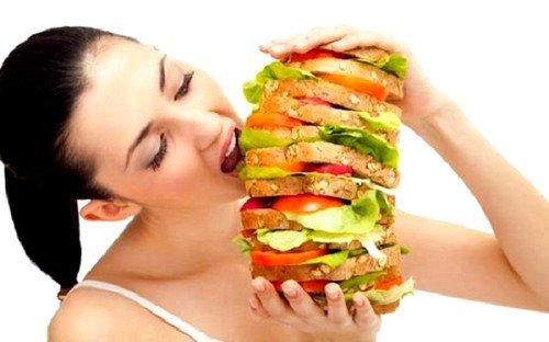 Неправильное питание как причина геморроя