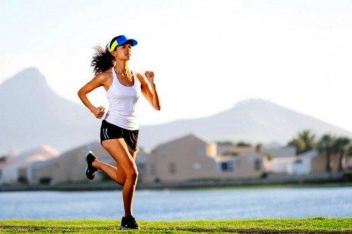 пробежка по утрам благоприятно сказывается на здоровье