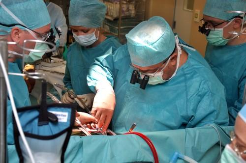 Операционное вмешательство по удалению матки