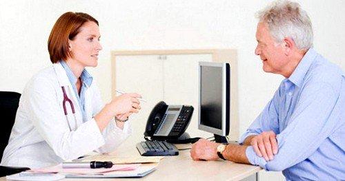 Прием у врача для назначения лечения