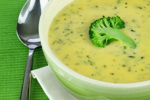 Суп с овсянки