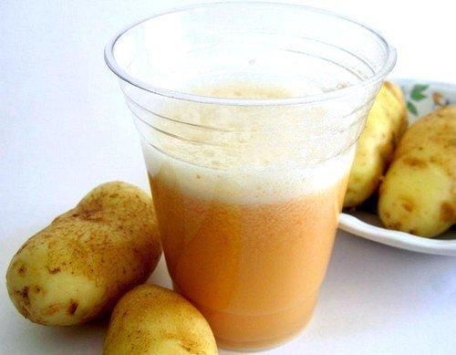 Сок картофеля при запорах