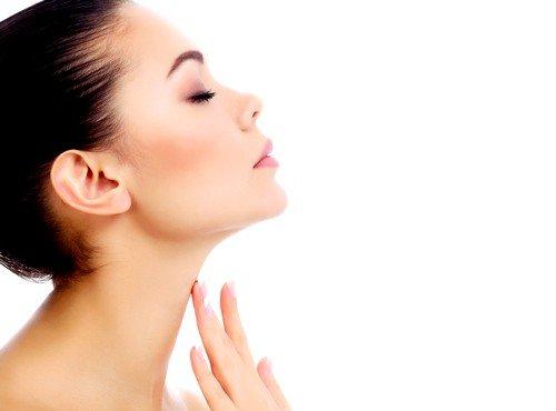 Здоровое состояние щитовидки для взрослой женщины  – не более 18 см3
