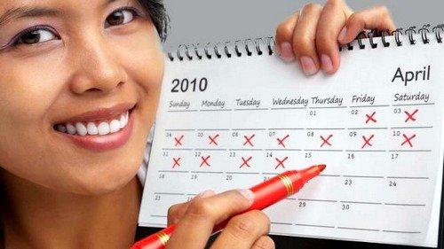 Женский календарь для расчета периода овуляции и зачатия - это достаточно несложный и поразительно удобный способ, который способен с высокой долей точности вычислить самый благоприятный день для зачатия ребенка и позволяющий практически безошибочно рассчитать женский менструальный цикл