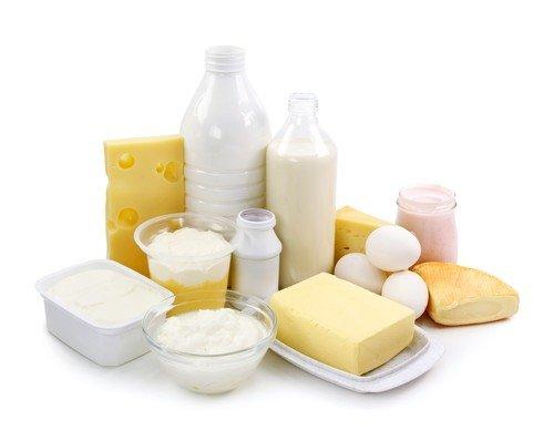 В рацион после процедуры обязательно вводятся молочные продукты