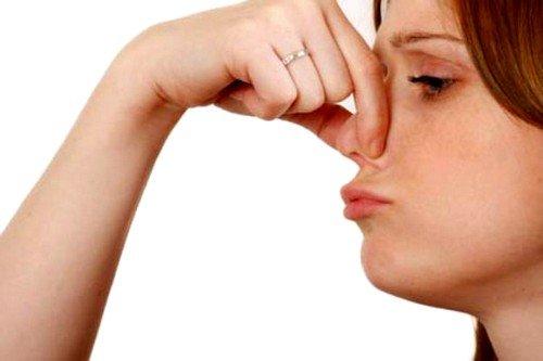 вдыхание резких запахов может привести к анафилактическому шоку