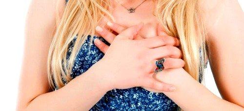 боль в груди как признак мастопатии