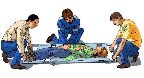 Характер оказания первой помощи зависит от степени травматического шока
