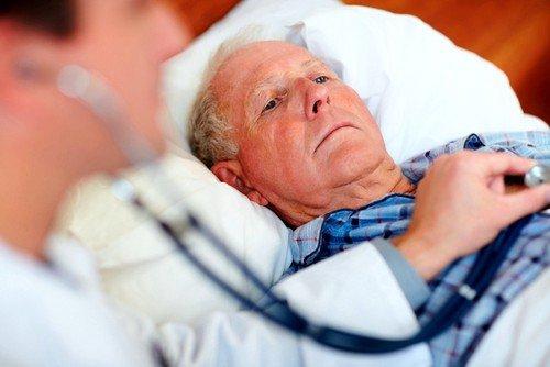 Причина декомпенсированной сердечной недостаточности является сбой работы левого желудочка сердца