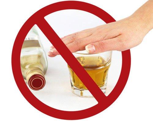 Полный отказ от алкоголя при приеме антибиотиков