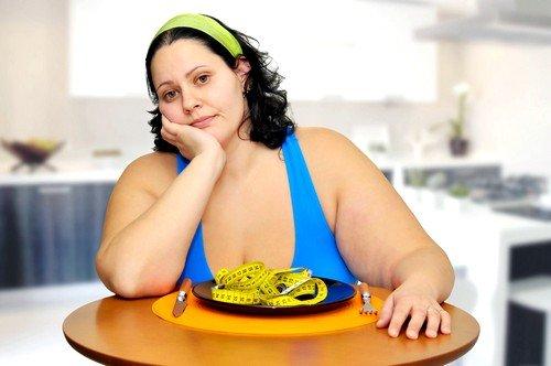 задержка цикла может быть, как на фоне лишнего веса, так и при сильном недостатке