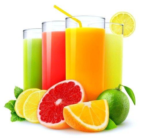 Необходимо употреблять больше свежевыжатых соков