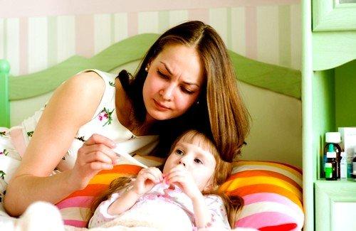 Самый распространенный сценарий развития инфекции у ребенка – температура и рвота в первый день болезни