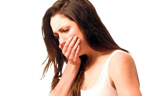 тошнота и рвота при гепатомегалии