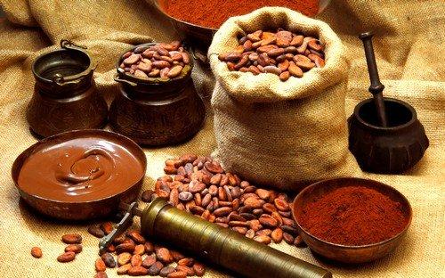 какао и шоколад относятся к запрещенным продуктам