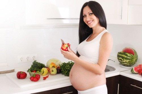Правильное питание будущей мамочки – залог здорового роста и развития плода