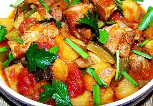 """можно приготовить необычное блюдо, которое называется """"Азу"""""""