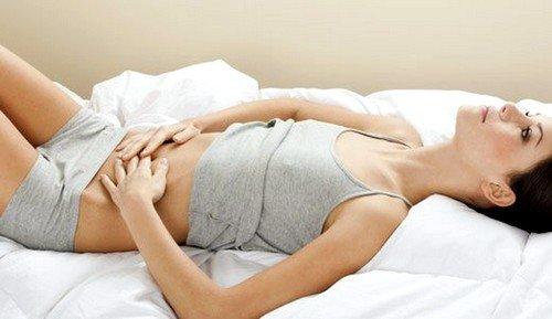 Разрыв функциональной кисты может быть причиной болей после секса