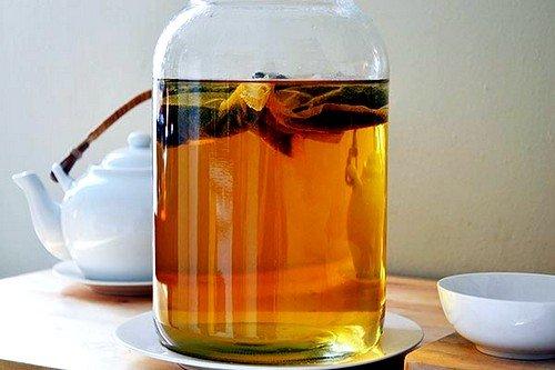 Отличным средством является чайный гриб