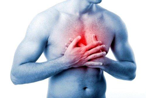 один из симптомов ахалазии кардии - боль или чувство тяжести в области груди