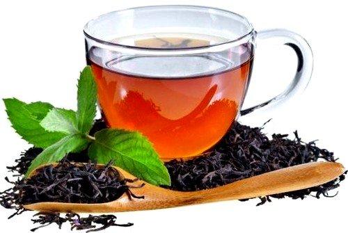 Поможет избавиться от воспаления слизистой оболочки глаз настойка из черного чая