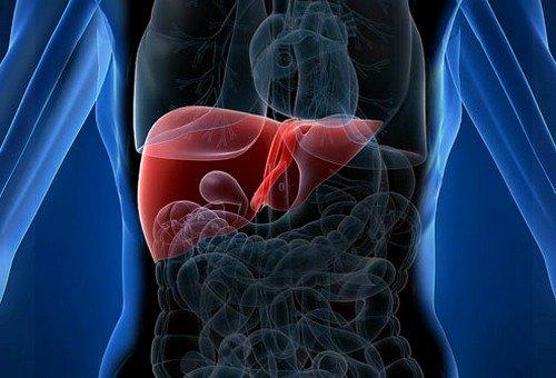 При болезни Крона возможно воспаление печени
