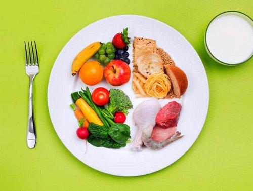 Необходимо полностью исключить из рациона фаст-фуд, быстрые углеводы, жирную пищу и увеличить потребление полезных углеводов, овощей и фруктов