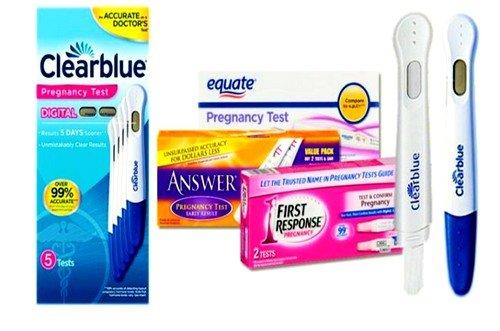 Чувствительность тестов на беременность фото