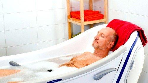 Полезны ванны с азотно-термальными минеральными водами