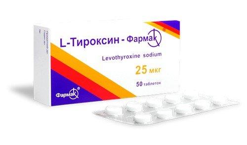 При развитии гипотиреоза назначаются препараты L-тироксина, контролирующие работу ЩЖ