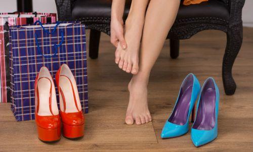 Ношение обуви на высоком каблуке - фактор риска