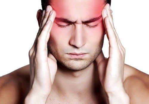 головная боль - один из первичных симптомов рассеянного склероза