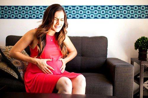 Почему тянет низ живота при беременности? фото