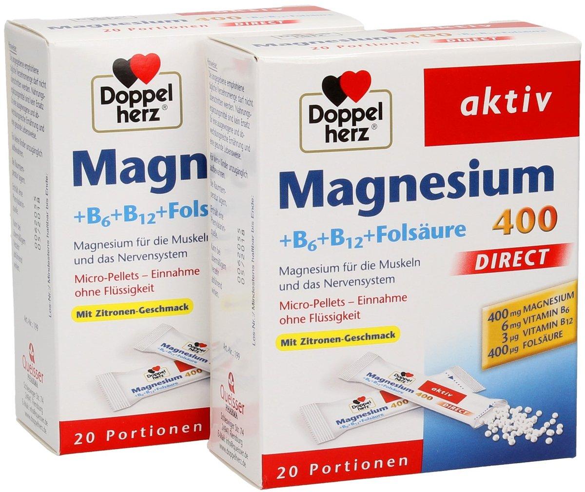 Как принимать витамины Доппельгерц?