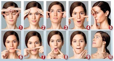 Комплекс для лифтинга кожи лица