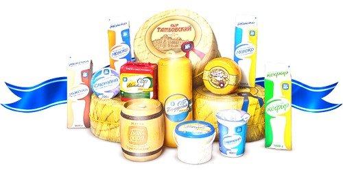молочная и кисломолочная продукция