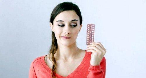 При приеме оральных контрацептивов беременность может долго не наступать