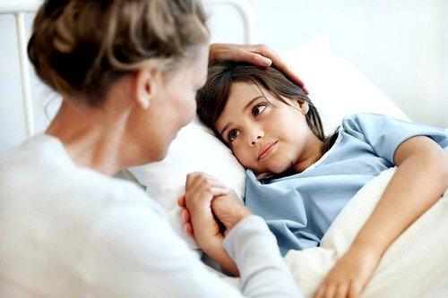 Скарлатину у маленьких пациентов лечат исключительно в стационаре