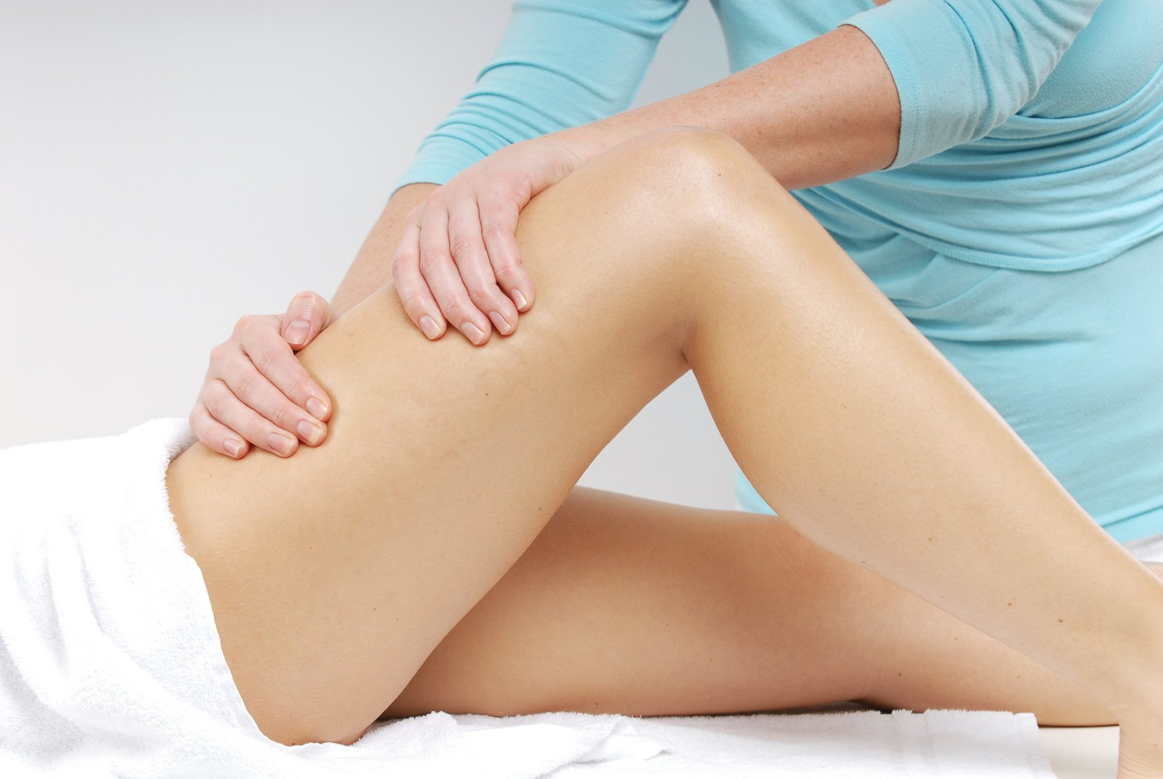 Качественный лимфодренажный массаж ног
